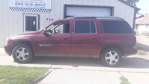 2004 Chevrolet TrailBlazer EXT for sale at ZITTERICH AUTO SALE'S in Sioux Falls SD