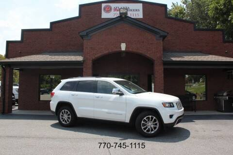2014 Jeep Grand Cherokee for sale at Atlanta Auto Brokers in Cartersville GA