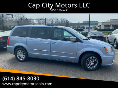 2013 Chrysler Town and Country for sale at Cap City Motors LLC in Columbus OH