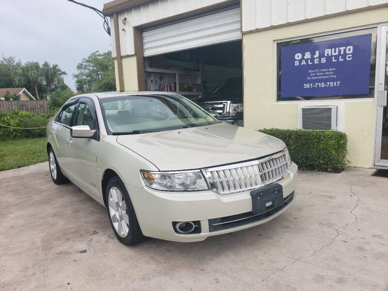 2007 Lincoln MKZ for sale at O & J Auto Sales in Royal Palm Beach FL