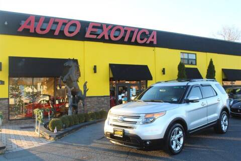 2013 Ford Explorer for sale at Auto Exotica in Red Bank NJ