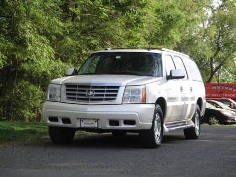 2003 Cadillac Escalade ESV for sale at Loudoun Used Cars in Leesburg VA