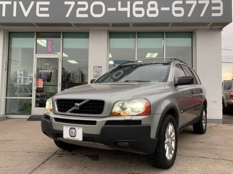 2004 Volvo XC90 for sale at Shift Automotive in Denver CO