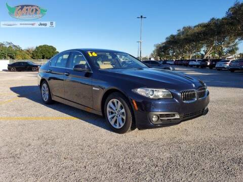 2016 BMW 5 Series for sale at GATOR'S IMPORT SUPERSTORE in Melbourne FL