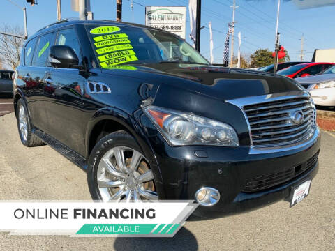 2012 Infiniti QX56 for sale at Salem Auto Market in Salem OR