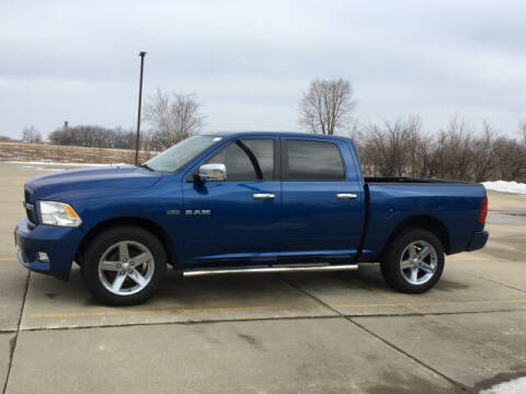 2010 Dodge Ram Pickup 1500 for sale at LANDMARK OF TAYLORVILLE in Taylorville IL