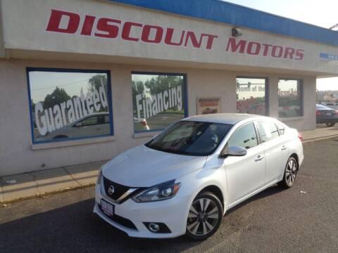 2017 Nissan Sentra for sale at Discount Motors in Pueblo CO