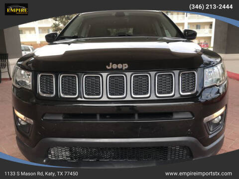 2018 Jeep Compass for sale at EMPIREIMPORTSTX.COM in Katy TX