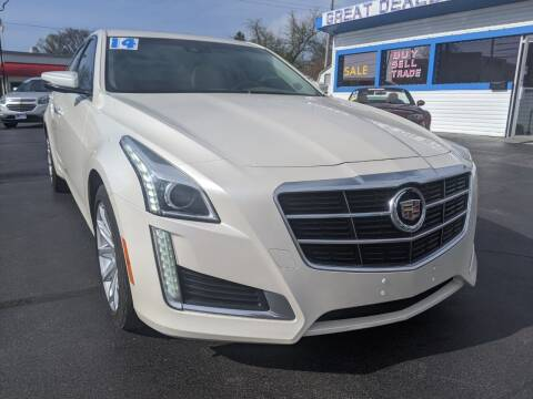 2014 Cadillac CTS for sale at GREAT DEALS ON WHEELS in Michigan City IN