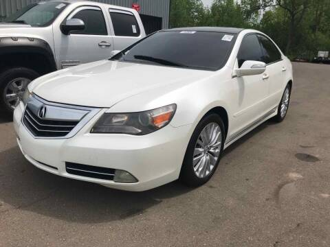 2011 Acura RL for sale at Cj king of car loans/JJ's Best Auto Sales in Troy MI
