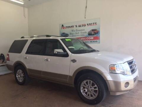 2013 Ford Expedition for sale at Antonio's Auto Sales in South Houston TX