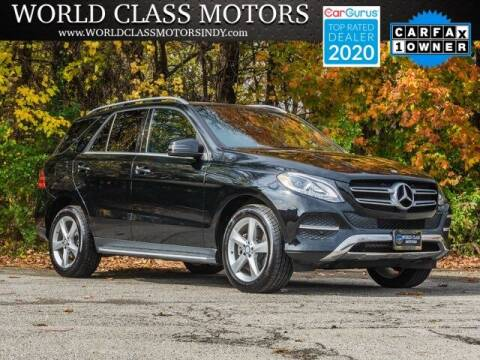 2016 Mercedes-Benz GLE for sale at World Class Motors LLC in Noblesville IN