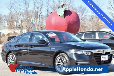 2019 Honda Accord Hybrid for sale at APPLE HONDA in Riverhead NY