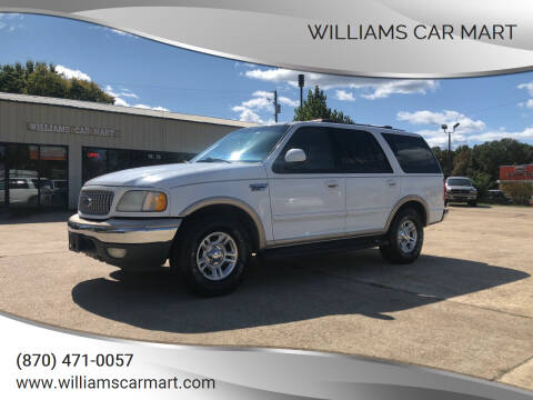 1999 Ford Expedition for sale at WILLIAMS CAR MART in Gassville AR
