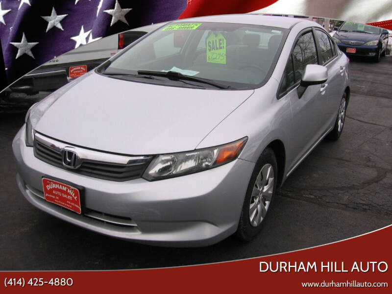 2012 Honda Civic for sale at Durham Hill Auto in Muskego WI