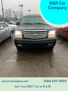 2006 Cadillac Escalade for sale at R&R Car Company in Mount Clemens MI