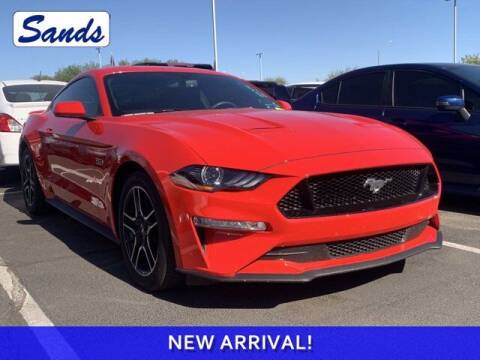 2018 Ford Mustang for sale at Sands Chevrolet in Surprise AZ