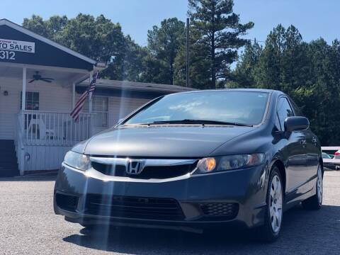 2010 Honda Civic for sale at CVC AUTO SALES in Durham NC