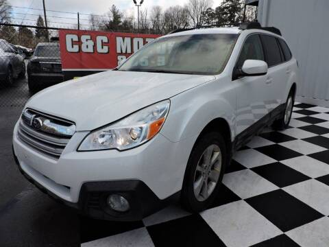 2013 Subaru Outback for sale at C & C Motor Co. in Knoxville TN