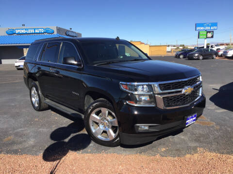 2015 Chevrolet Tahoe for sale at SPEND-LESS AUTO in Kingman AZ