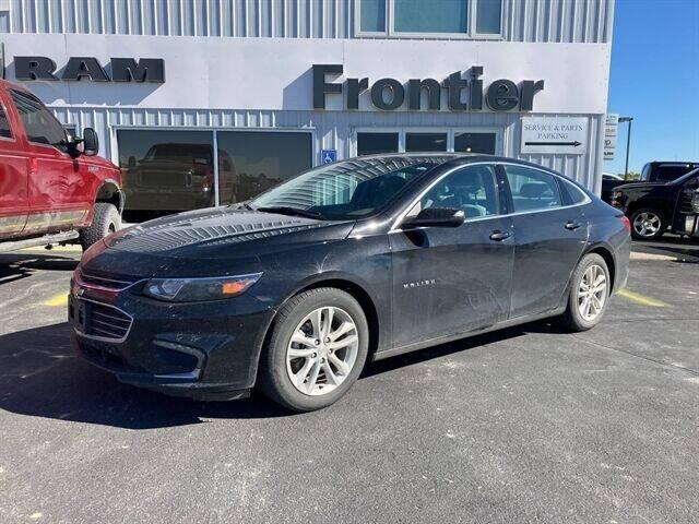 2017 Chevrolet Malibu for sale at Frontier Motors Automotive, Inc. in Winner SD