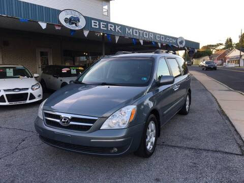 2008 Hyundai Entourage for sale at Berk Motor Co in Whitehall PA