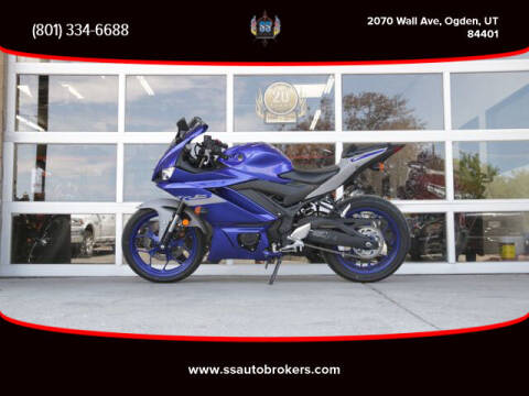 2020 Yamaha YZF-R3 for sale at S S Auto Brokers in Ogden UT