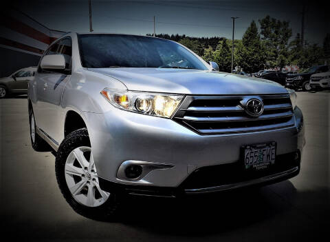 2012 Toyota Highlander for sale at A1 Group Inc in Portland OR