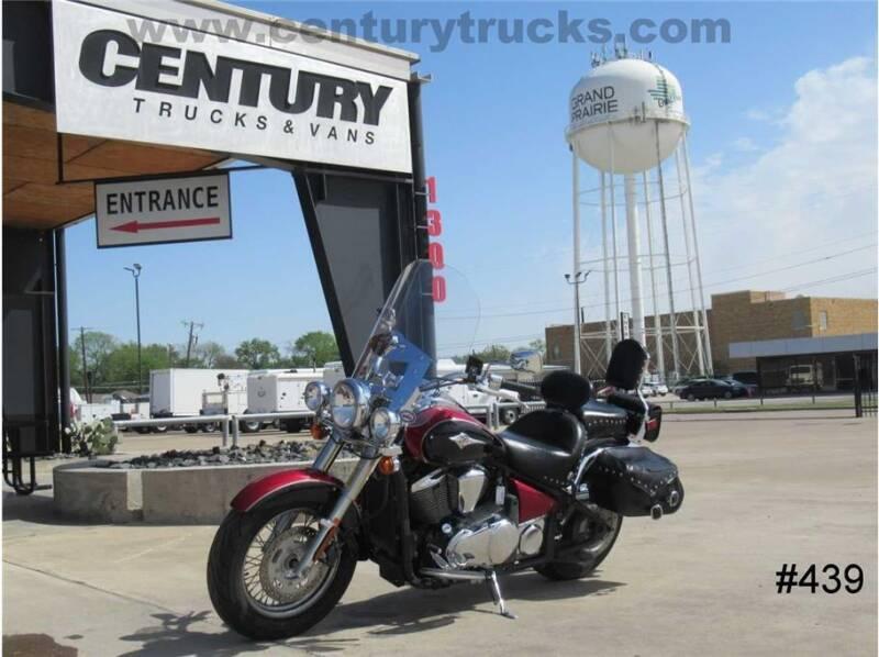 2008 Kawasaki Vulcan 900 Classic LT for sale at CENTURY TRUCKS & VANS in Grand Prairie TX