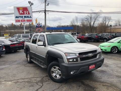 2005 Chevrolet Avalanche for sale at KB Auto Mall LLC in Akron OH