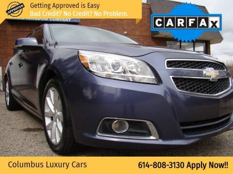 2013 Chevrolet Malibu for sale at Columbus Luxury Cars in Columbus OH
