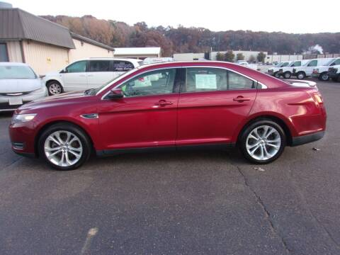2013 Ford Taurus for sale at Welkes Auto Sales & Service in Eau Claire WI