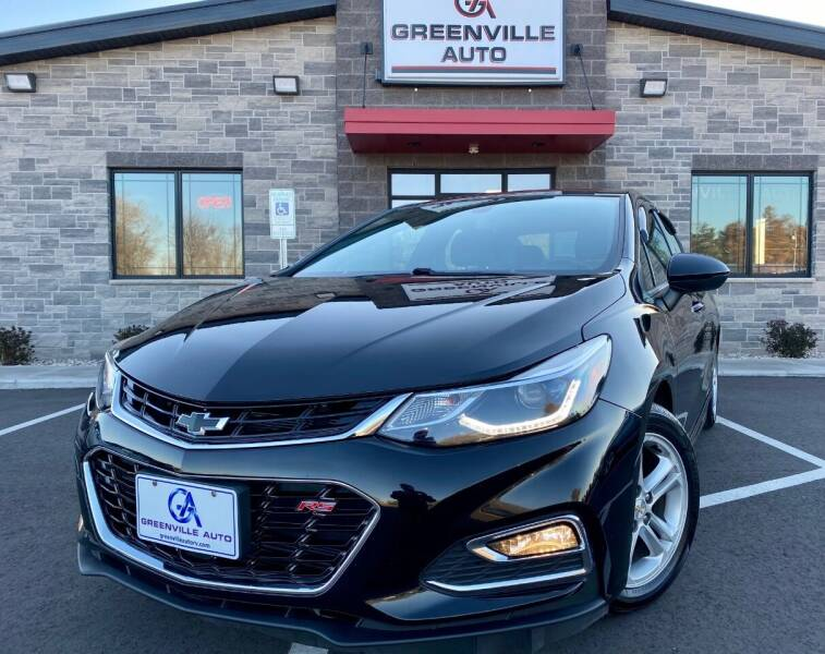 2016 Chevrolet Cruze for sale at GREENVILLE AUTO & RV in Greenville WI