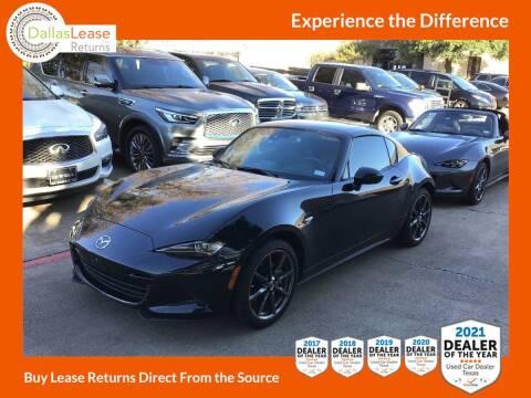 2019 Mazda MX-5 Miata RF for sale at Dallas Auto Finance in Dallas TX