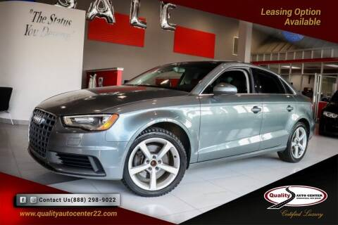 2015 Audi A3 for sale at Quality Auto Center in Springfield NJ