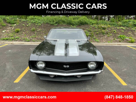 1969 Chevrolet Camaro for sale at MGM CLASSIC CARS in Addison IL