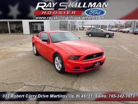 2013 Ford Mustang for sale at Ray Skillman Hoosier Ford in Martinsville IN