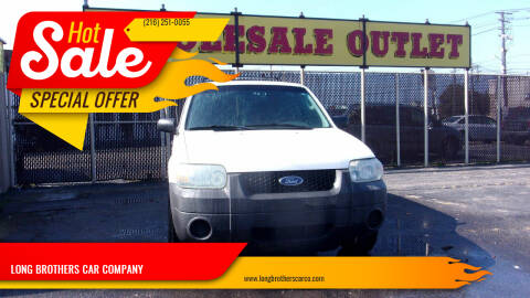 2007 Ford Escape for sale at LONG BROTHERS CAR COMPANY in Cleveland OH