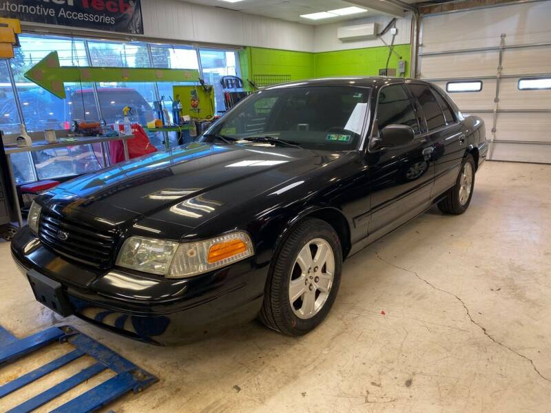 2003 Ford Crown Victoria for sale at Ginters Auto Sales in Camp Hill PA