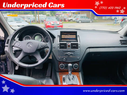 2009 Mercedes-Benz C-Class for sale at Underpriced Cars in Marietta GA