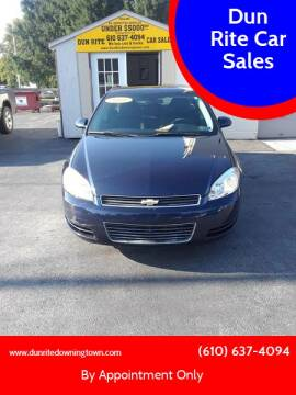 2009 Chevrolet Impala for sale at Dun Rite Car Sales in Downingtown PA