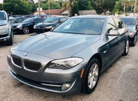2013 BMW 5 Series for sale at CHECK  AUTO INC. in Tampa FL