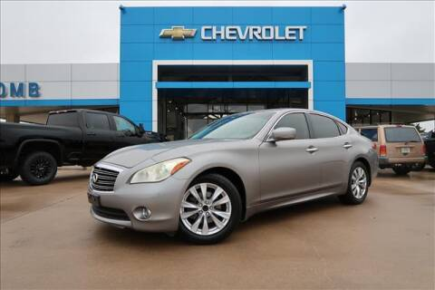 2011 Infiniti M37 for sale at Lipscomb Auto Center in Bowie TX