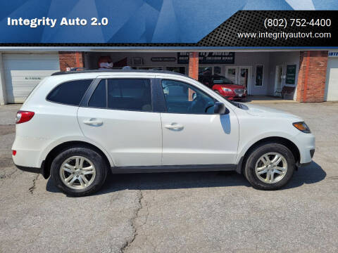 2012 Hyundai Santa Fe for sale at Integrity Auto 2.0 in Saint Albans VT