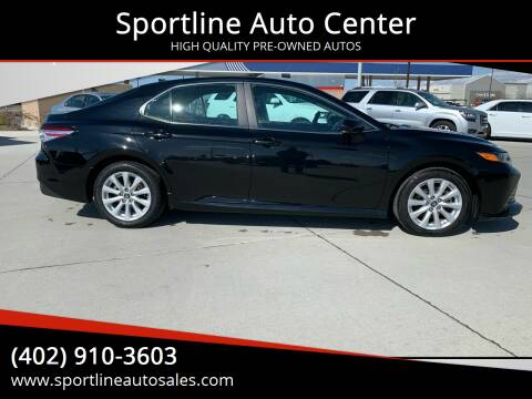 2019 Toyota Camry for sale at Sportline Auto Center in Columbus NE