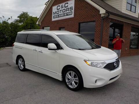 2012 Nissan Quest for sale at C & C MOTORS in Chattanooga TN