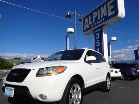 2008 Hyundai Santa Fe for sale at Alpine Auto Sales in Salt Lake City UT