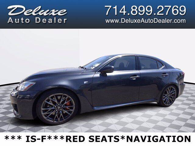 2010 Lexus IS F for sale in Midway City, CA