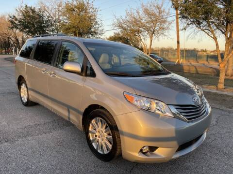 2017 Toyota Sienna for sale at Prestige Motor Cars in Houston TX