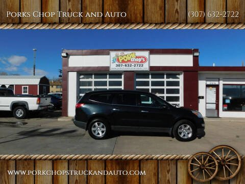2012 Chevrolet Traverse for sale at Porks Chop Truck and Auto in Cheyenne WY